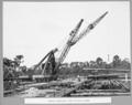 Queensland State Archives 3648 Rocklea workshops steel stockyard crane Brisbane 7 April 1936.png
