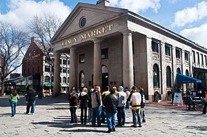 Gridley J. F. Bryant - Boston's Quincy Market, one of the most well-known creations of Bryant and his mentor, Alexander Perris.