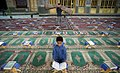 Qur'an reading, Hilal ibn Ali Mosque, Ramadan 1438 AH 02.jpg