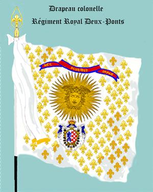 Royal Deux-Ponts Regiment - Image: Rég de Roy Deux Ponts Col