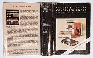 Reader's Digest Condensed Books - Image: RDCB Dustjacket