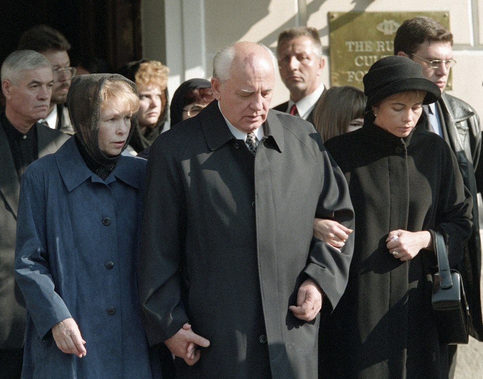 RIAN archive 46207 Funeral of Raisa Gorbachev