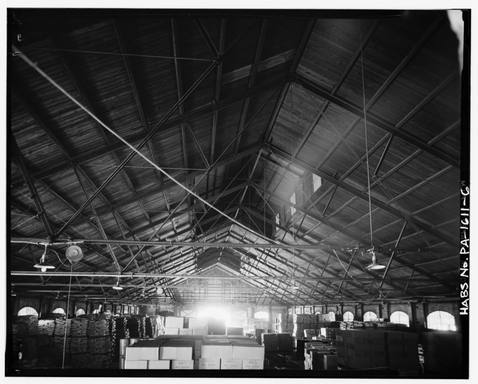 File Roof Trusses And Clerestory Philadelphia