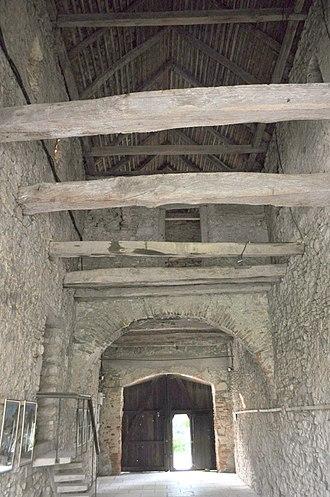 Câlnic Citadel - Image: RO AB Calnic fort 2