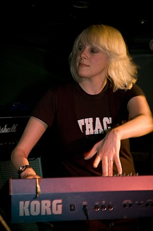 Rachel Minton - Minton on keyboard