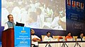 Radha Mohan Singh addressing at the signing ceremony of an MoU between the Ministry of Water Resources, River Development and Ganga Rejuvenation and the Ministry of Agriculture & Farmers Welfare, in New Delhi.jpg