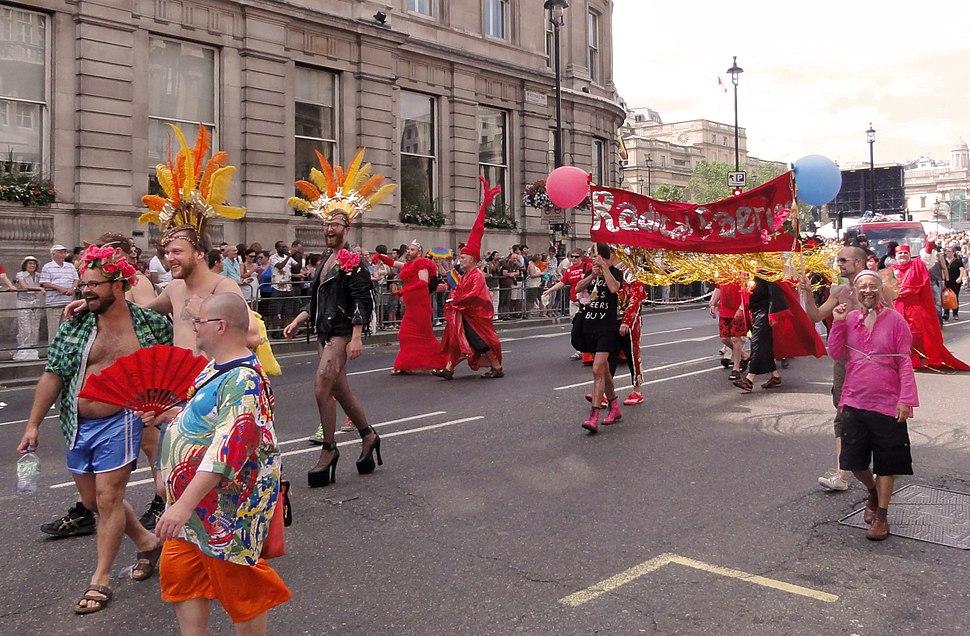 Radical Faeries 2010 London Pride
