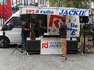107.8 Radio Jackie - Radio Jackie, Putney, London, 2016