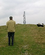 "Radio Mast on Wiswell Moor. Visible from miles around. On the OS map as ""Wiswell Wireless Station"". Radio Wiswell?"