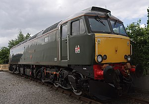 British Rail Class 57 - GWR 57604 at the NRM