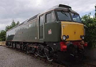 British Rail Class 57 - GWR 57604 at the NRM