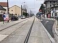 Rails Tramway IdF Ligne 6 Rue Pavé Blanc - Clamart (FR92) - 2021-01-03 - 2.jpg