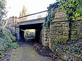 Railway Bridge 100 Metres West Of Hermitage Mill, Near Kings Mill Reservoir, Mansfield (2).jpg