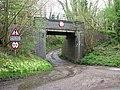 Railway bridge No 724 over Mill Road - geograph.org.uk - 1254806.jpg
