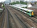 Railway north of East Croydon Station - geograph.org.uk - 479985.jpg