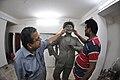 Raj Kapoor Statue In Progress - Kolkata 2017-08-08 4102.JPG