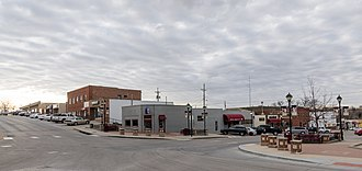 Ralston, Nebraska - Main Street in Ralston, Nebraska