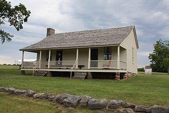 Wilson's Creek National Battlefield - Image: Ray House Wilsons Creek National Battlefield Springfield MO