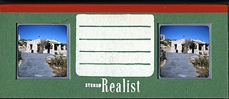 Stereo Realist - Slide mounted by the Realist mounting service.