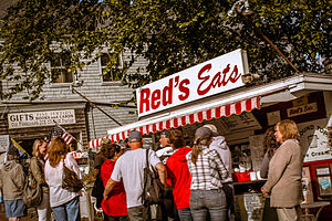 Red's Eats - Red's Eats, on U.S. Route 1 in Wiscasset, Maine