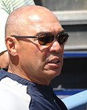 Reggie Jackson at Dodger Stadium 2010.jpg