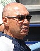 Reggie Jackson at Dodger Stadium 2010