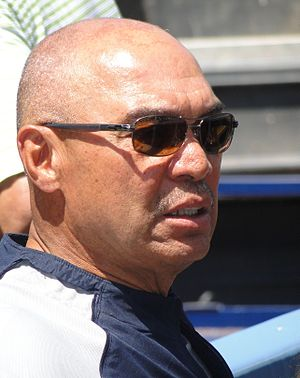 Reggie Jackson - Jackson at Dodger Stadium in 2010