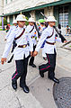 Regimiento Primero de Infantería de la Guardia Real, Gran Palacio, Bangkok, Tailandia, 2013-08-22, DD 02.JPG