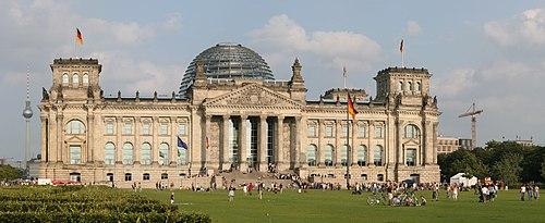 Rigsdagshuset i Berlin - Wikipedia's Riksdagshuset i Berlin as translated by GramTrans