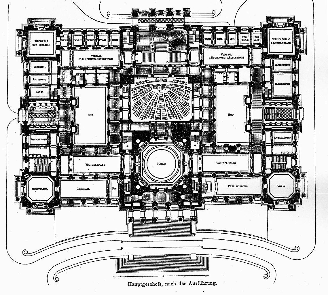 File reichstagsgeb ude berlin architekt wallot dresden - Architektur plan ...