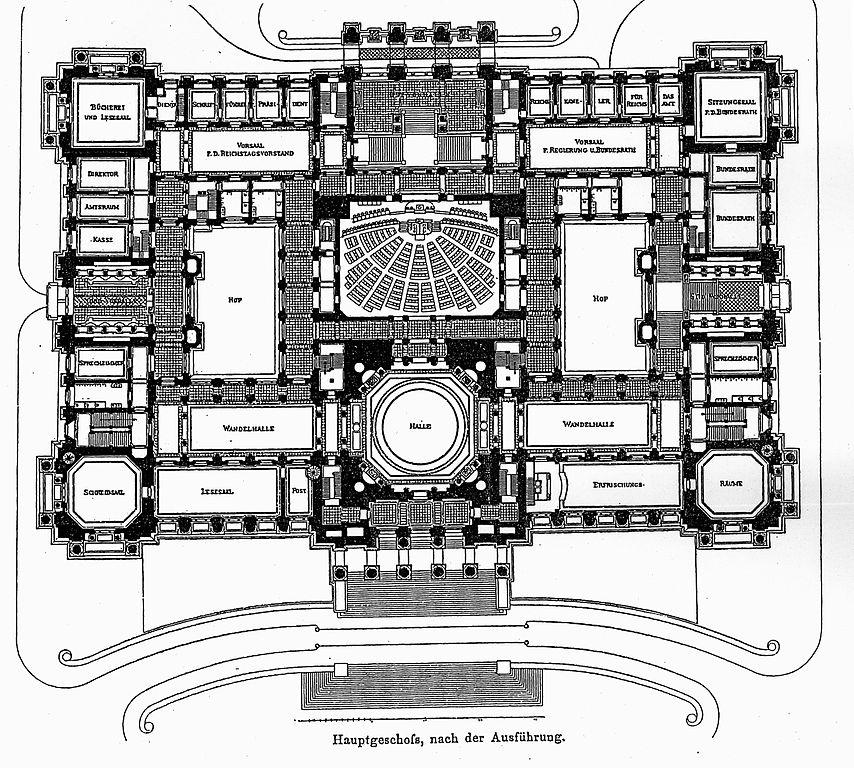 file reichstagsgeb ude berlin architekt wallot dresden. Black Bedroom Furniture Sets. Home Design Ideas