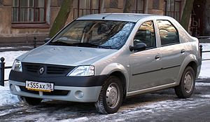 Renault Russia - First series Renault Logan