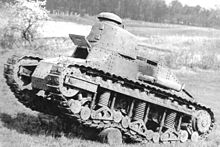 Renault NC 1 on trials, 1928 - Credits : wikimedia commons