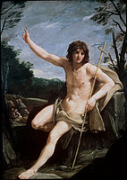 Reni, Guido - St John the Baptist in the Wilderness - Google Art Project.jpg