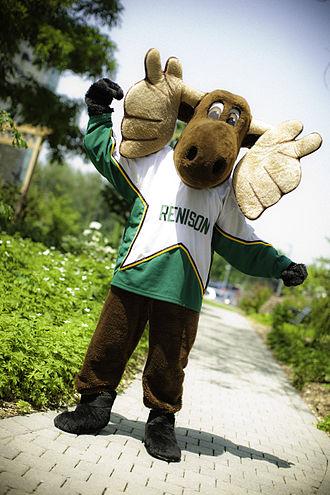 Renison University College - Renison's mascot, Reni Moose