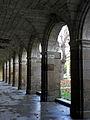 Rennes (35) Abbaye Saint-Melaine Cloître 01.JPG