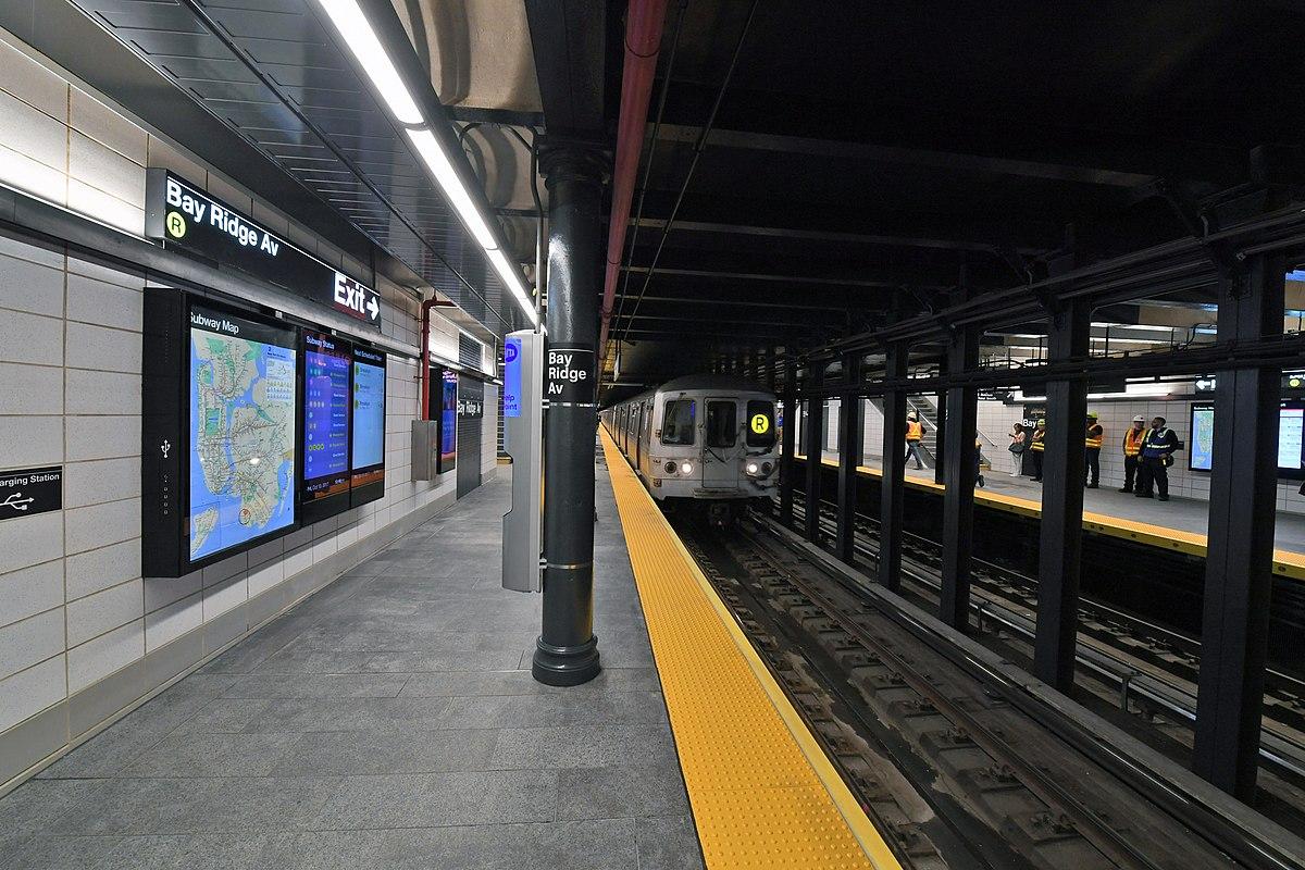 Bay Ridge Avenue  Bmt Fourth Avenue Line