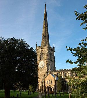Repton Abbey - St. Wystan's Church, Repton