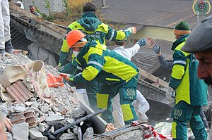 Rescue workers during recovery efforts - Van Earthquake 2011.jpg