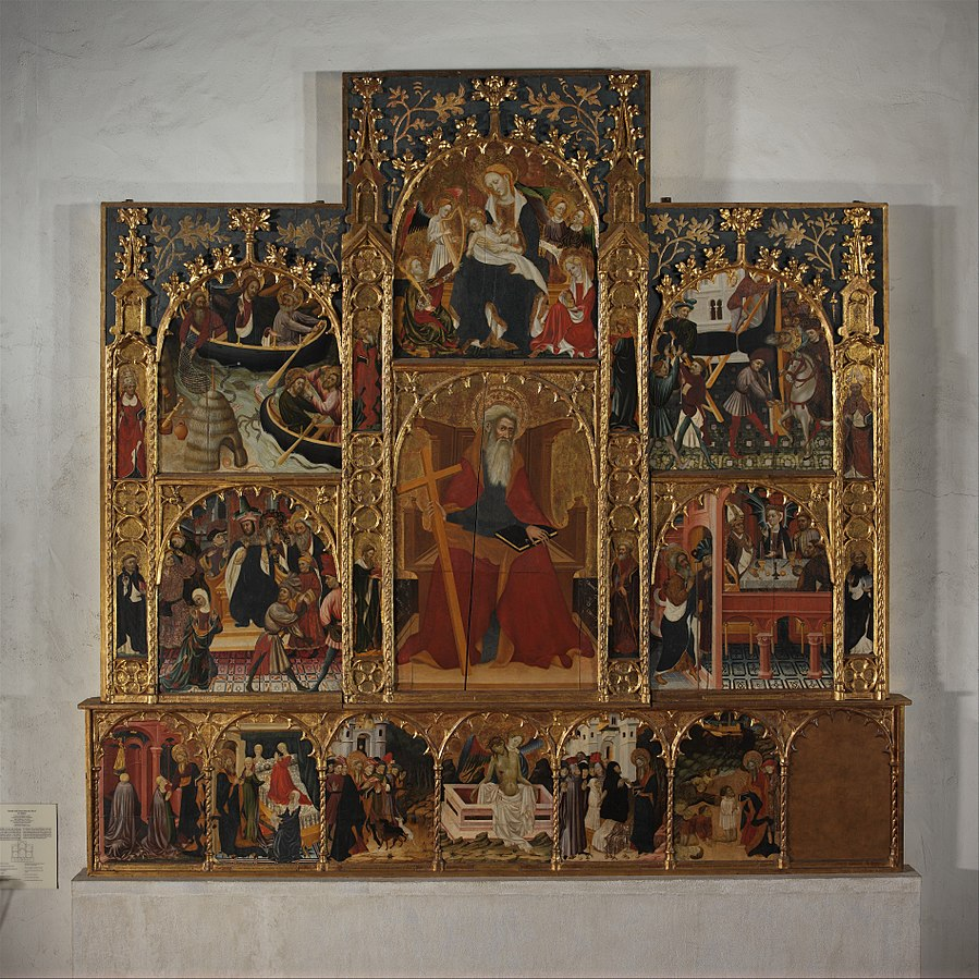 Retable with Scenes from the Life of Saint Andrew