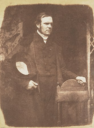Patrick Fairbairn - Patrick Fairbairn by David Octavius Hill and Robert Adamson