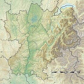 (Voir situation sur carte: Rhône-Alpes)