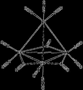 Tetrarhodium dodecacarbonyl - Image: Rh 4(CO)12