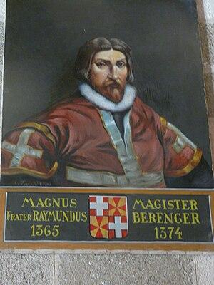 Raymond Berengar (Grand Master of the Knights Hospitaller) - Raymond Berengar