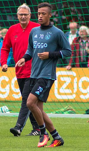 Richairo Živković - Živković in training with Ajax in 2016