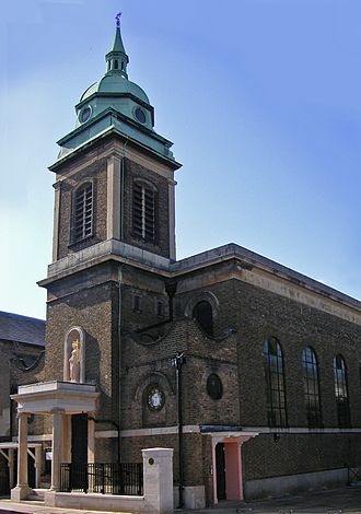 St Elizabeth of Portugal Church - Image: Richmond St Elizabeth of Portugal RC Church 001