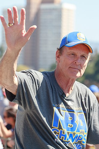 Rick Barry - Barry at the Golden State Warriors championship parade in June 2015