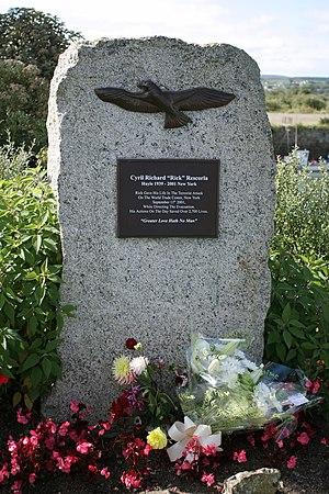 Rick Rescorla - Rick Rescorla Memorial in Hayle, Cornwall