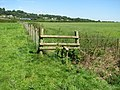 Rickety stile on the Gloucestershire Way - geograph.org.uk - 522815.jpg