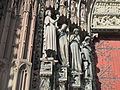 Right portal of the western facade of Notre-Dame de Strasbourg (2).JPG